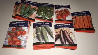 sobres de semillas para tu huerto