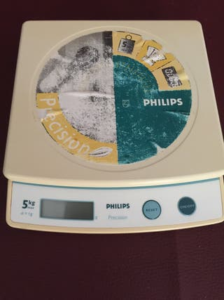 Bascula de cocina 5kg philips