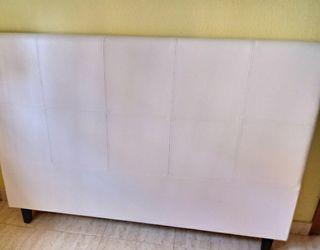 Cabecero de diseño blanco