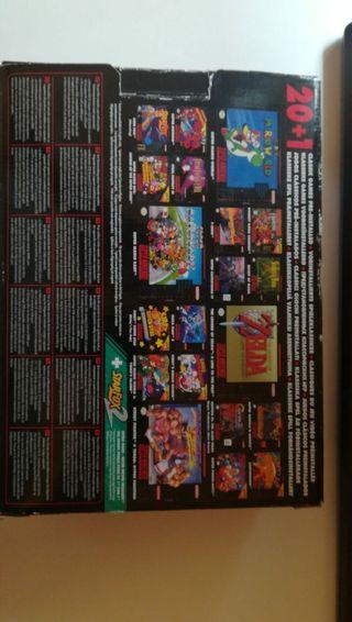 súper Nintendo mini classic