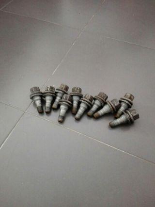 10 tornillos de rueda psa