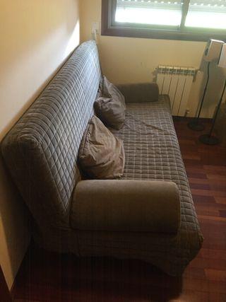 Se vende sofa-cama libro con colchon visco