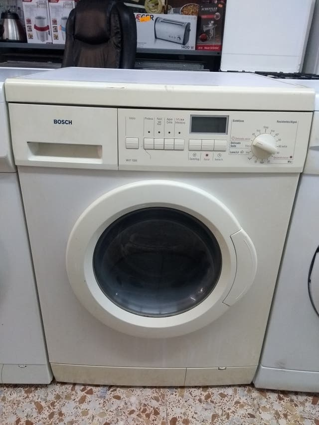Lavadora secadora bosch
