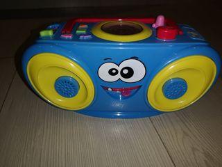 radio juguete