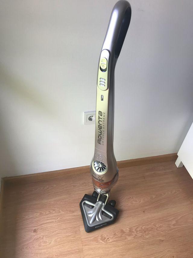 Aspiradora sin cable ni bolsa