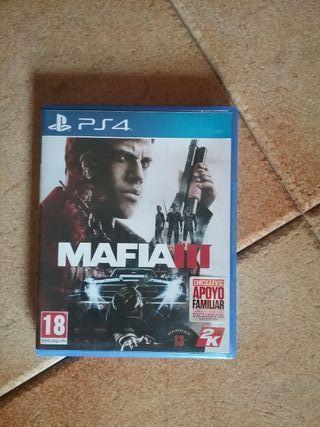 Juego Mafia 3 ps4