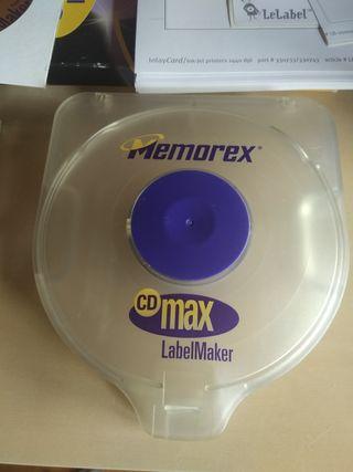 Etiquetadora de CDs o DVDs