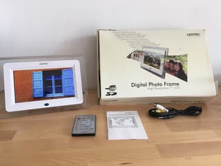 Marco de fotos digital. Reproductor imagenes