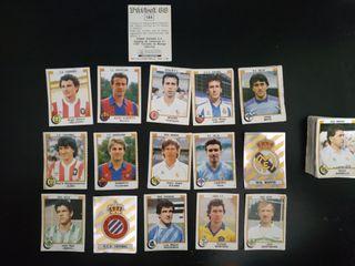 Lote 81 cromos Fútbol PANINI 88