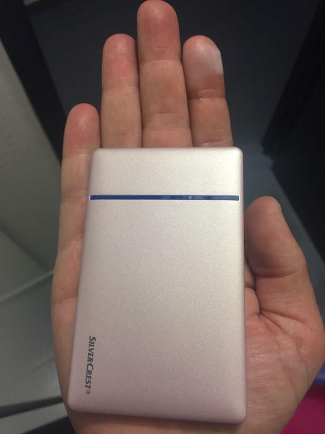 Batería externa de diseño 3000 mAh