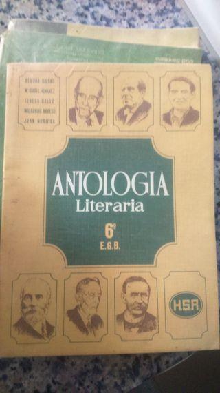 Libro antologia literaria 6ºEG