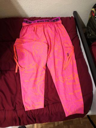 pantalón zumba original talla small