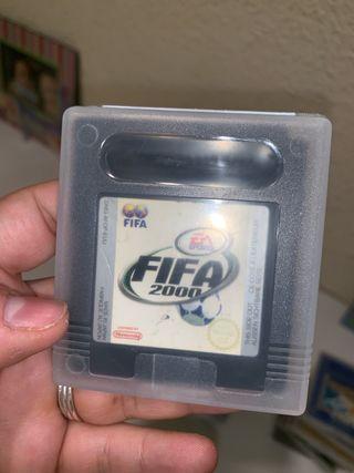 FIFA 2000 game boy