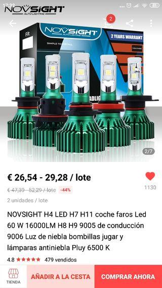 kit led novsight H7 Nuevo