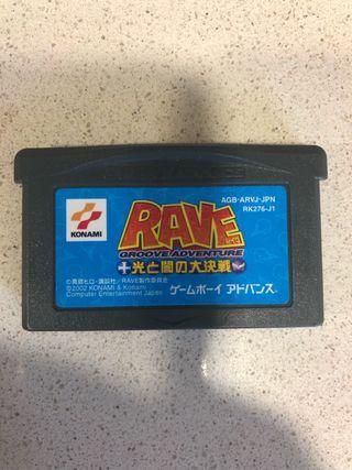 Groove adventure rave Nintendo game boy advance