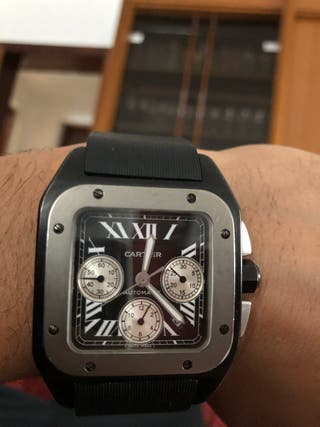 2661f783a3fe0 Reloj Cartier de segunda mano en Madrid en WALLAPOP