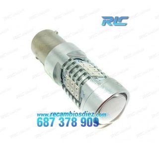 Bombilla LED P21W Roja Canbus