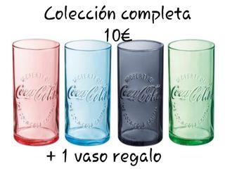 Colección vasos + 1 de regalo extra