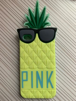 FUNDA IPHONE 4 PIÑA PINK