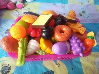 Comidas de juguete