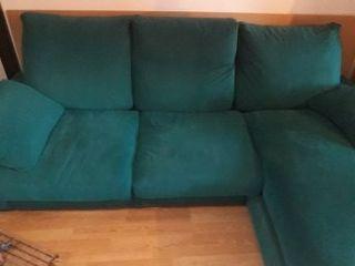 sofá de plumas