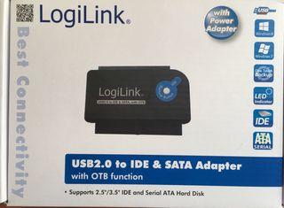 LOGILINK USB2.0 IDE & SATA Adaptador