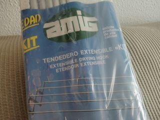 Tendedero extensible aluminio NUEVO