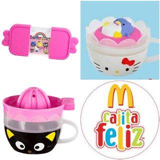 Lote Tazas Hello Kitty McDonald's Happy Meal