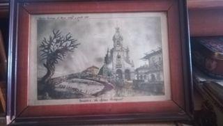 Antiguo cuadro, Ibarra, La Iglesia Mayor