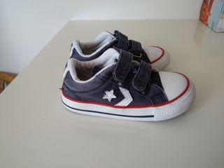zapatillas niño converse 22