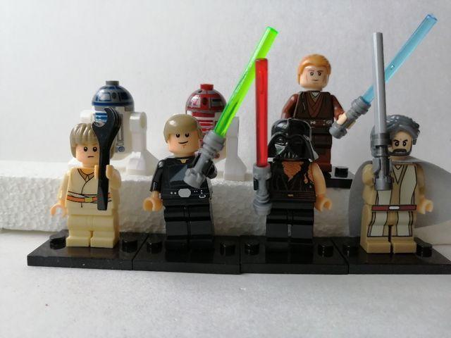 7 figuras Star wars. Nuevas