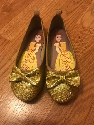 Zapatos de La Bella y La Bestia,talla 31