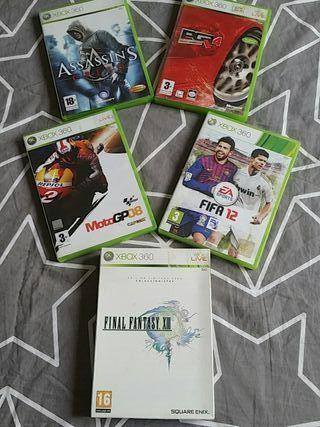 Pack jocs Xbox360