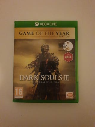 Dark Souls 3 The Fire Fades Edition XBOX One