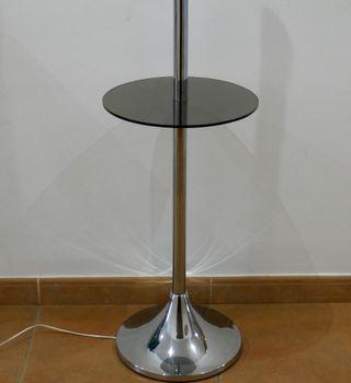 Lámpara de pie vintage años 60 70 space age metal