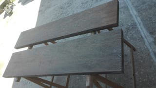 Tablones de madera de elondo