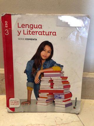 Libro lengua y literatura 3o ESO