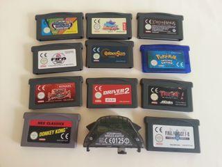 Varios juegos gameboy ADVANCED