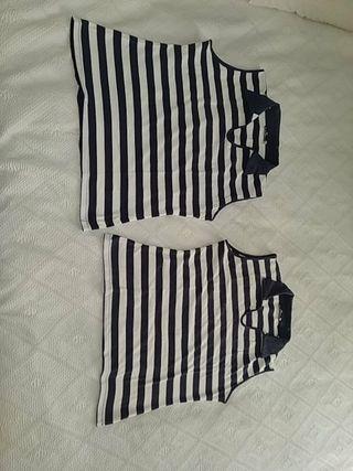 camiseta sin mangas talla L