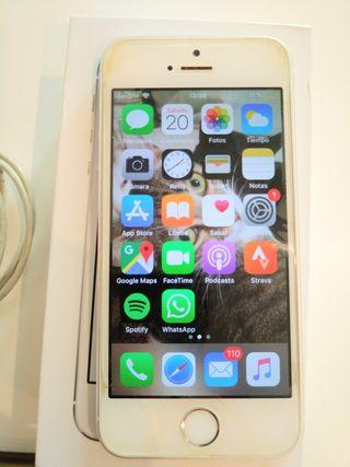 Iphone 5S 16Gb Apple+cargador, cable USB y caja