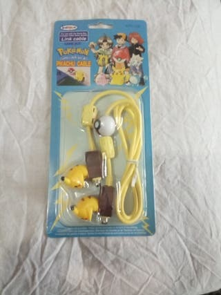Cable Link GameBoy Edición Pikachu sin abrir