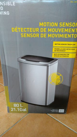 bidón de basura automático o manual