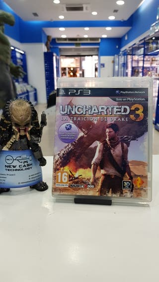 UNCHARTED 3 PS3 IMPECABLE
