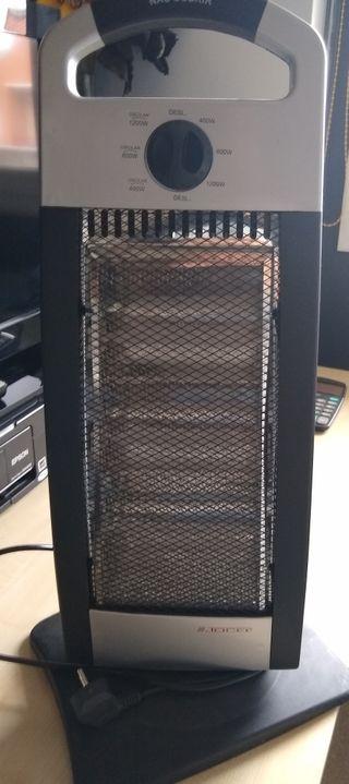 calefactor estufa eléctrico