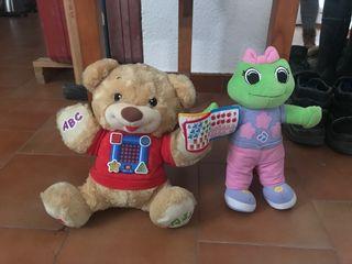 Muñecos aprende inglés