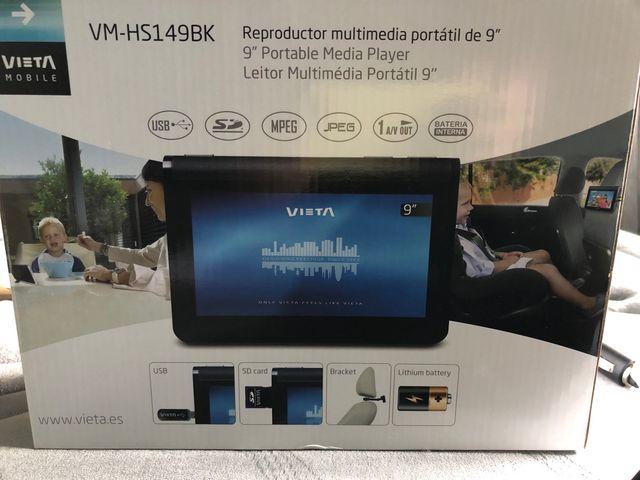 Reproductor multimedia portátil VIETA