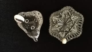 ceniceros cristal y plata