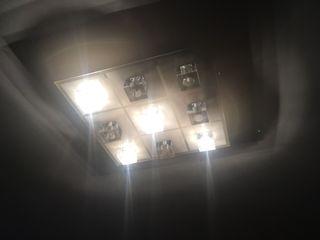 Lámpara de techo led con mando a distancia