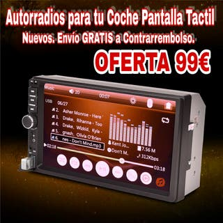 NUEVAS RADIO PANTALLA TACTIL MP4