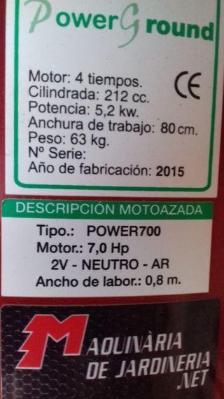 Motocultor POWER700